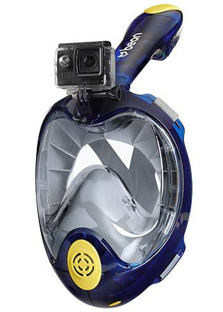 Maska do nurkowania z kamerą